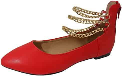 baae68c67451a Shopping Red - Cambridge Select - Flats - Shoes - Women - Clothing ...