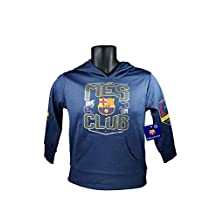 FC Barcelona Messi 10 Fleece Jacket Sweatshirt Official Soccer Youth Hoodie 009