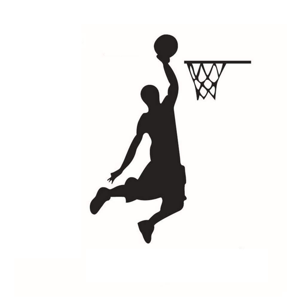 Naisicatar Adesivi murali 10 * 12.5cm Decorazione murale de Basket 1 pz