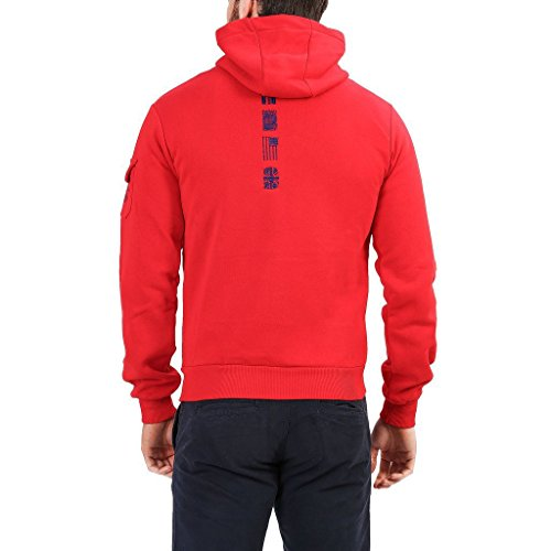 Geographical Norway Fohnson_man Felpe Uomo Rosso XL