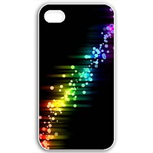 Apple iPhone 4 4S Cases Customized Gifts Of Graffiti Colorful White