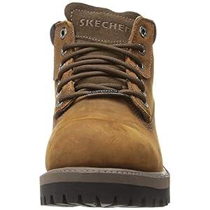 Skechers Men's Sergeants-Verdict-4442 Warm Lining Chelsea Boots