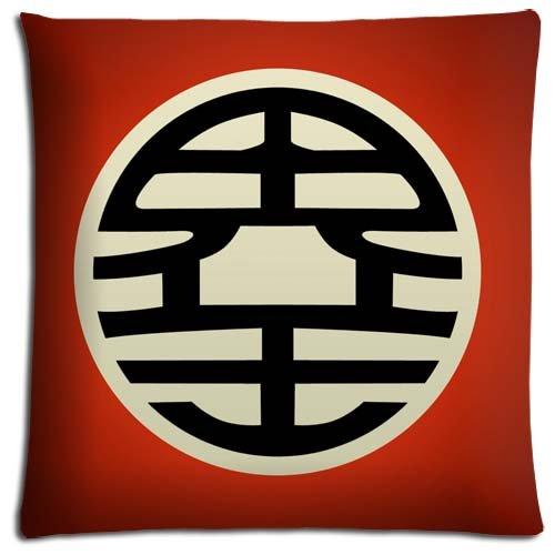 Elegante con zip graziosa Home Pillow Shells case Dragon Ball Z in poliestere e cotone 40,6x 40,6cm 40x 40cm
