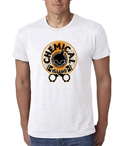 Chemical-Guys blanco camiseta top t-shirt shirt De los hombres 2XL t-shirt: Amazon.es: Ropa y accesorios