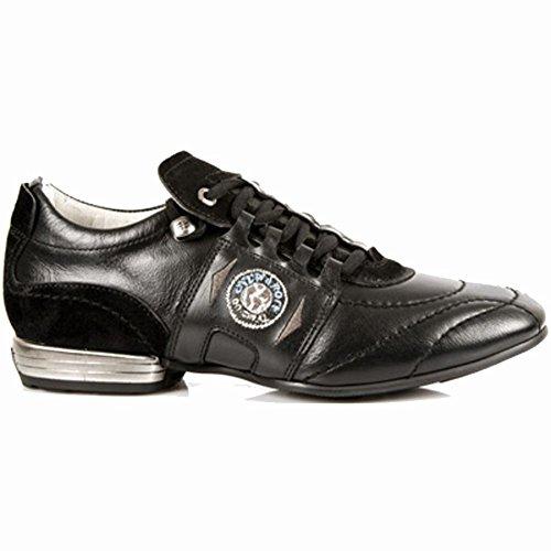 Marche Rock Noir Nouveaux s1 Chaussures De 8403 De Hommes De Hqnz1pvOwx