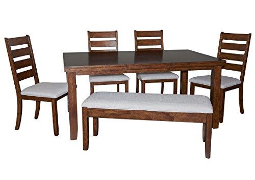 Powell Furniture 16D2006 Gavin Wood Dining Set-5 Pc