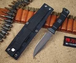 NEW-Black-Seal-Pup-ComboEdge-W-Nylon-Sheath-Self-Defense-Weapon-Ultimate-Survival-Tool-for-Zombie-Apocalypse-Survival-Kit-w-Free-5-in-1-Carabiner-Multitool-Credit-Card-Knife-Survival-Life
