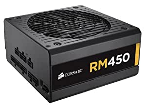 Corsair RM Series, RM450, 450 Watt (450W), Fully Modular Power Supply, 80+ Gold Certified