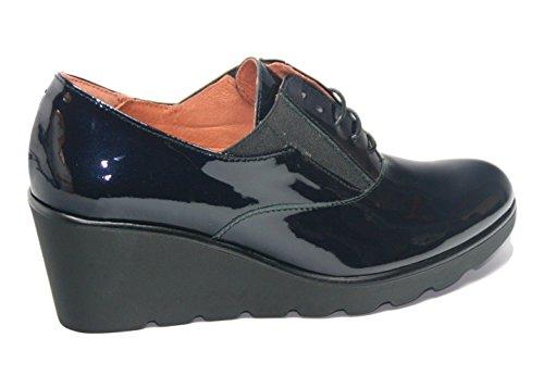 39 Cu Buggy a a Aza LA17201 Charol Azul Laura en Zapato de con EaqxnOWE7