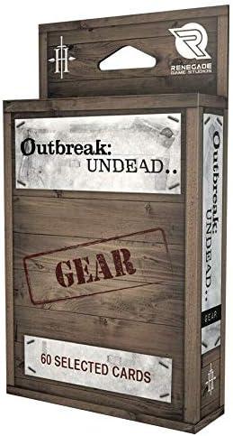 Outbreak Undead Gear Deck Renegade Game Studios 884