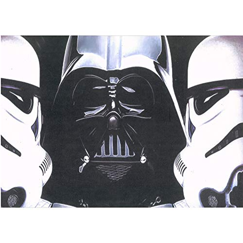 (Star Wars Dark Force Darth Vader 3D Poster Wall Art Movie Print | 11.8x15.7 | Unbelievable 3D Lenticular Posters, Cool Room Décor Pictures | Fan Memorabilia Gifts | Storm Trooper)