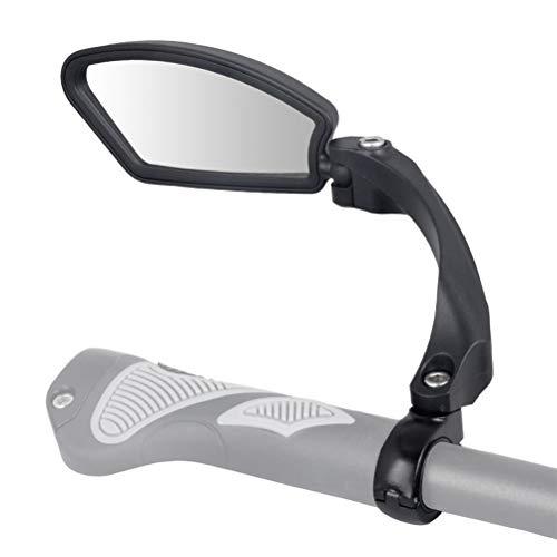 Fietsspiegel, fietsachteruitkijkspiegel voor e-bike en fiets, bevestiging aan stuur