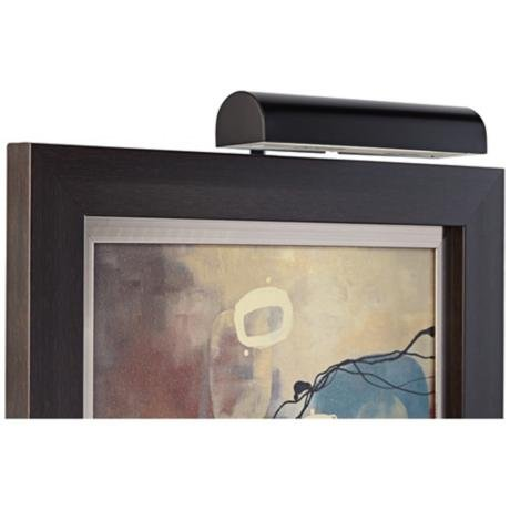 Concept Lighting 103L Cordless LED Picture Light, 11.5-Inch, Black by Concept Lighting