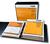 Case 1370 Tractor Service Repair Manual Parts Catalog Technical Shop Set Ovhl