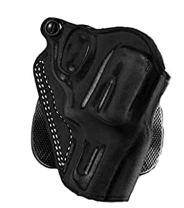 Galco Speed Paddle Holster for 1911 4-Inch, 4 1/4-Inch Colt, Kimber, Para, Springfield, Smith (Black, Right-hand)