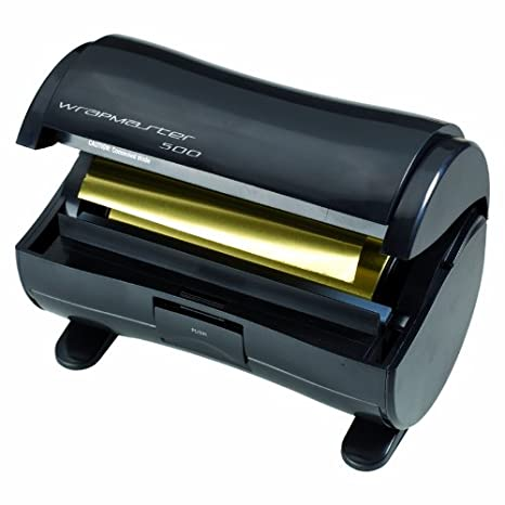 Wrapmaster F-1190-500 dispensador de aluminio, color negro: Amazon.es: Salud y cuidado personal