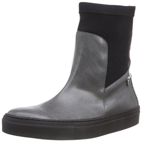 Jonny´s Vegan Kody - botines chelsea de material sintético mujer gris - Grau (Gris)