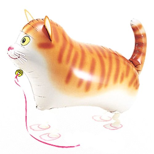Refillable New (New Re-fillable walking pet helium balloon (CAT))