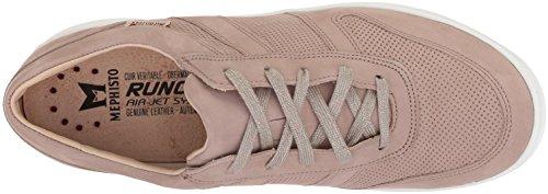 Taupe Sneaker Perf Women's Light Rebeca Mephisto Bgzq6z