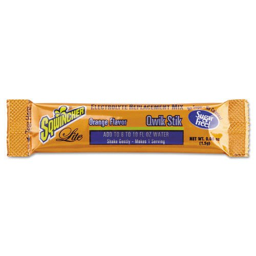 Sugar-Free Qwik Stik, 8-10oz, Orange, 500 Per Case