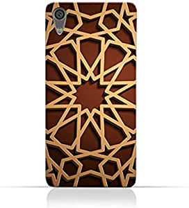 AMC Design Cases & Covers Sony Xperia XA1 - Brown & Beige