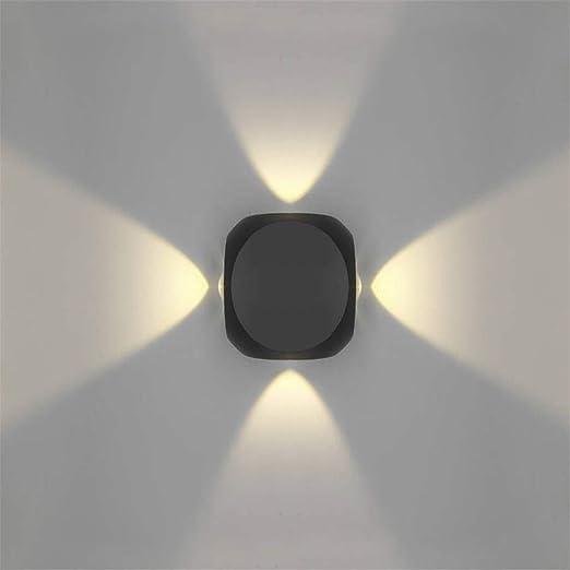Applique murale à LED moderne noir Applique murale Up Down
