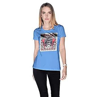 Creo T-Shirt For Women - S, Blue