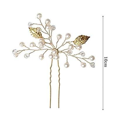 SUMAJU Wedding Hair Pins Set, Bride Hair Pins, Hair Jewelry Hair Accessories for Women Bridal Wedding/DIY Hair Style