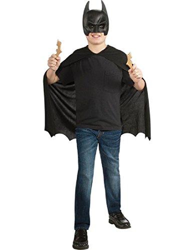 Batman: The Dark Knight Rises: Batman Child's Costume Set with Mask, Cape and Batarangs -