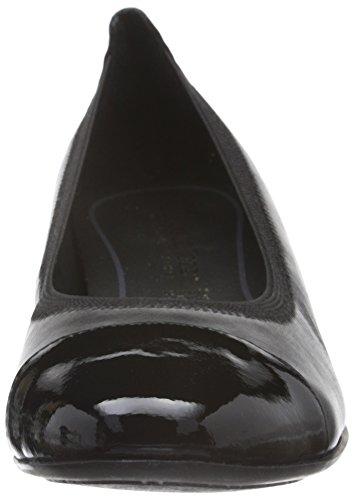 Marco Tozzi Premio 22302, Zapatos de Tacón para Mujer Negro (BLACK ANT.COMB 096)