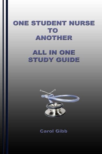Download One Student Nurse to Another All In One Study Guide Pdf