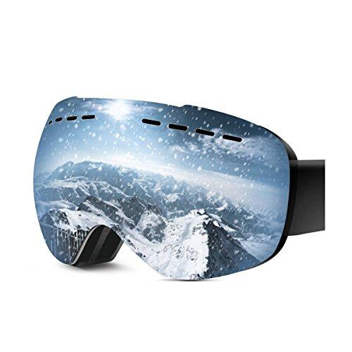 ventilated ski goggles - 7