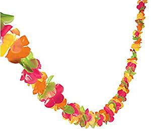 200 ft flower garland luau party decor for Decorate with flowers amazon