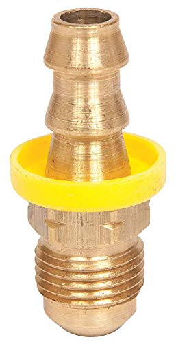 Goodyear Engineered Products Straight Brass Push On Hose Fitting Brass PB-JCM-0606-1 Each