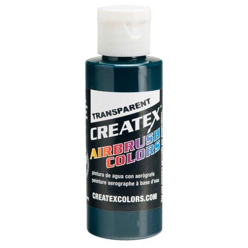 Createx Airbrush Paint, Transparent Forest Green, 2 oz (5110-02) ()