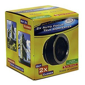 Digital Concepts 2X AF Teleconverter for Nikon N / AFd lenses [並行輸入品]   B01L4TAC8A