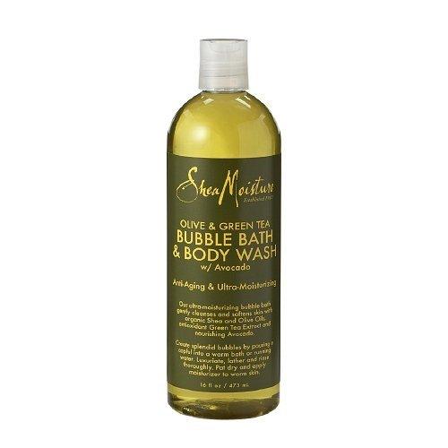 SheaMoisture Olive & Green Tea Bubble Bath & Body Wash16 Ounces