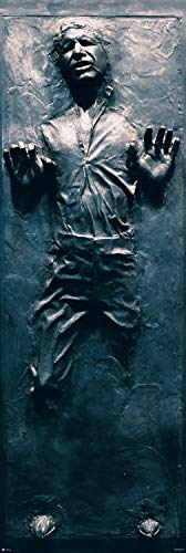 Star Wars: Episode VI - Return of The Jedi - Door Movie Poster (Han Solo in Carbonite) (Size: 21
