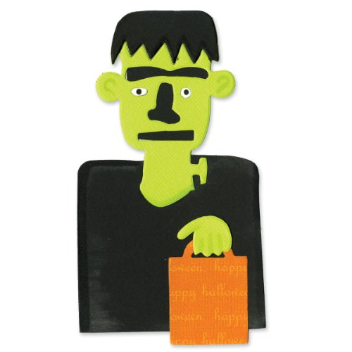 Sizzix Bigz Die - Frankenstein with Treat Bag by Brenda Pinnick]()