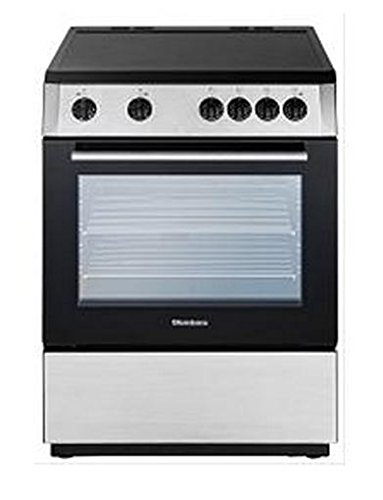 Blomberg BERU24200SS Electric Range with Ceramic Top, Non-Convection Oven, 24-Inch, Stainless Steel ()