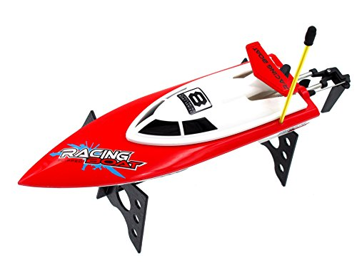 Auto-Flip RC Boat High Speed Racing Remote Control Boat On Water Pool Lake River