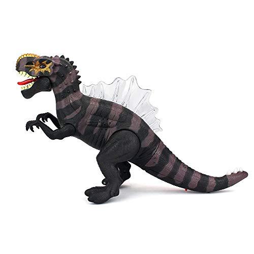 - Alimao 2019 New Walking Dinosaur Spinosaurus Light Up Kids Toy Figure Sounds Real Movement LED