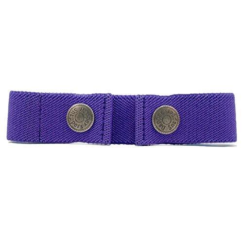 Dapper Snapper Baby & Toddler Adjustable Belt (Purple) DAPPER SNAPPERS