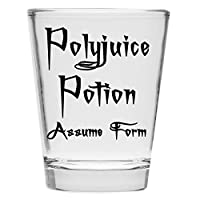 Shot Glass - Polyjuice Potion Assume Form - Inspired by Harry Potter