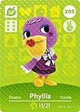 Phyllis - Nintendo Animal Crossing Happy Home Designer Amiibo Card - 205