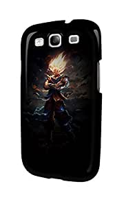 S30548 Dragon Ball Z Super Saiyan Glossy Case Cover For Galaxy S3 by ruishername