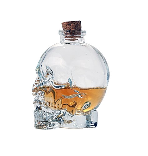 Novelty-Glass-Skull-Face-Perfume-Essential-Oil-Spell-Bottle-with-Cork-Top