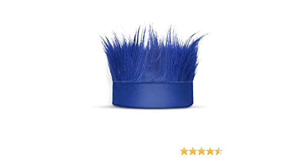 Tiegan 2 PCS 21 Inch Hairy Headband Elastic Crazy Hat Wig for Holloween Costume Accessories Sports Party and Spirit Day