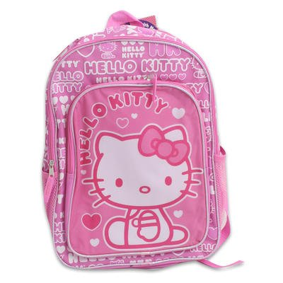 [해외]Backpack - Hello Kitty - Hearts Pink (16 School Bag) / Backpack - Hello Kitty - Hearts Pink (16 School Bag)