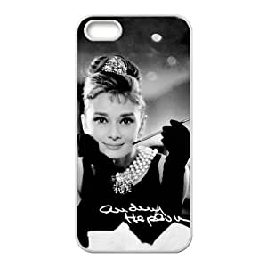 Audrey Hepburn Cell Phone Case for Iphone 5s
